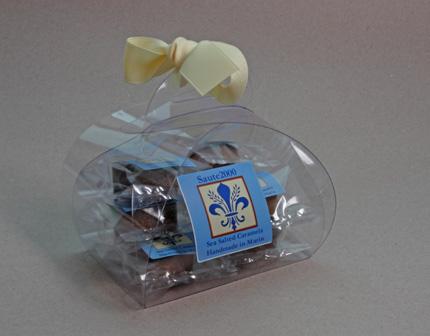 8 oz Sea Salted Carmel Chocolate Candies by Saute2000